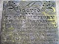 Gravestone detail of John Blenkinsop - geograph.org.uk - 1294565.jpg