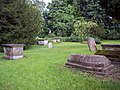 Gravestones at St Leonards Church, Sutton Veny - geograph.org.uk - 473485.jpg