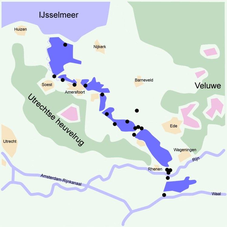 Grebbelinie the Netherlands