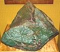 Green nephrite jade ventifact (Precambrian; Crooks Mountain, Fremont County, Wyoming, USA) 9 (24542934852).jpg