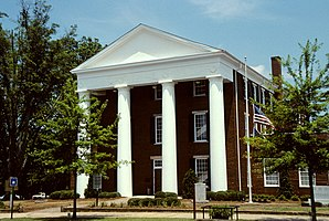 Greene County Courthouse in Greensboro, gelistet im NRHP Nr. 80001083[1]
