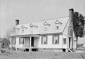 John Tyler - Tyler's birthplace, Greenway Plantation in Charles City County, Virginia