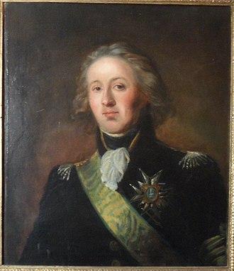 Gustav Wachtmeister - Portrait of Gustav Wachtmeister.