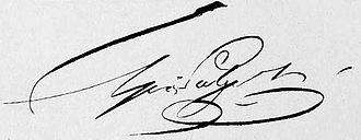 Alexander Griboyedov - Image: Griboyedov Signature