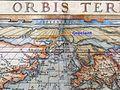 Groclant in 1572 Typus Orbis Terrarum Ortelius.jpeg