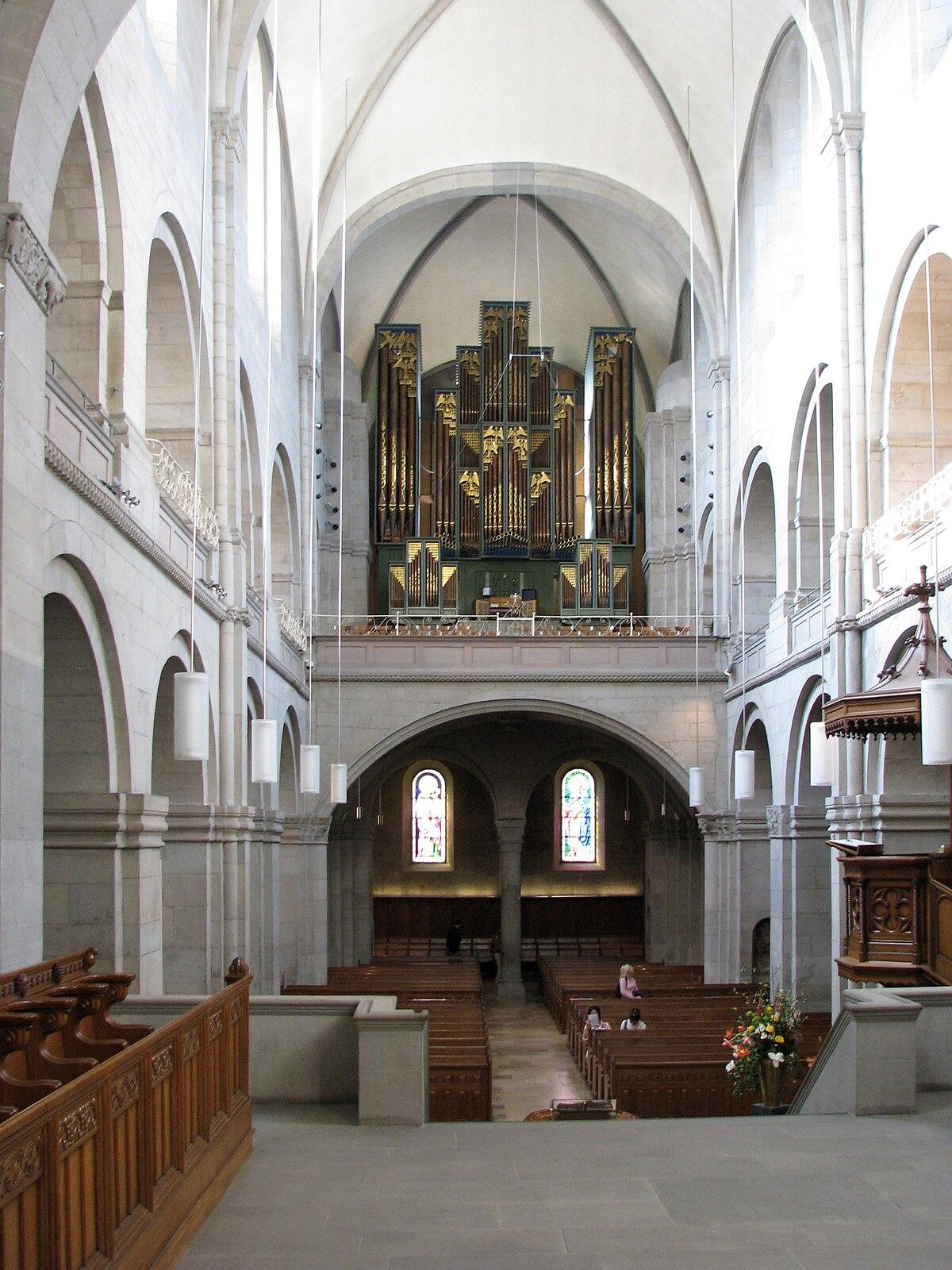 Grossm nster wikipedia for Interior auf deutsch
