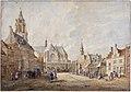 Grote Markt in Arnhem from the south, by Jan de Beijer.jpg