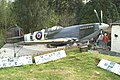 Grounded - Mk. IX Spitfire - geograph.org.uk - 170261.jpg