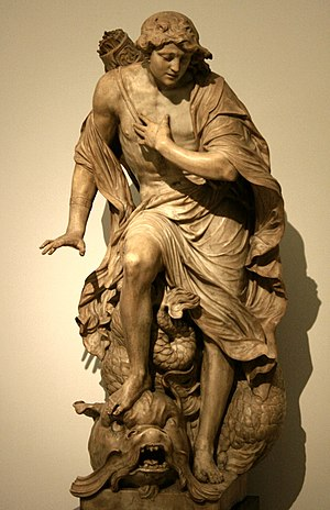 Gabriël Grupello - Narcissus, 1680–85, Royal Museums of Fine Arts of Belgium