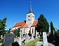 GuentherZ 2010-08-21 0037 Pulkau Friedhof Kirche.jpg
