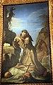Guercino, san francesco che adora il crocifisso, 1645, 04.JPG