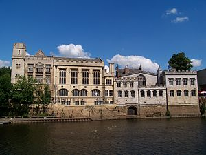 City of York Council - Image: Guildhall, York