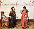 Guillaume Dufay and Gilles Binchois, ca 1400 (21955956385).jpg