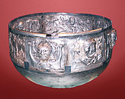 A photo of the Gundestrup cauldron
