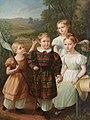 Gustav Adolph Hennig - Children of Eduard Gottlob von Nostiz und Jaenckendorf, c. 1840 .jpg