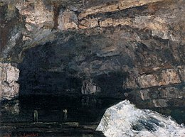 Gustave Courbet - The Source of the Loue - WGA05511.jpg