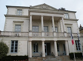 Regional Council of Brittany - The Hôtel de Courcy in Rennes, seat of the Regional Council.