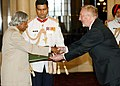 H.E. MR. KIERAN DOWLING DESIGNATE AMBASSADOR OF THE IRELAND PRESENTED HIS CREDENTIALS TO THE PRESIDENT DR. APJ ABDUL KALAM AT RASHTRAPATI BHAVAN IN NEW DELHI ON SEPTEMBER 29, 2004.jpg
