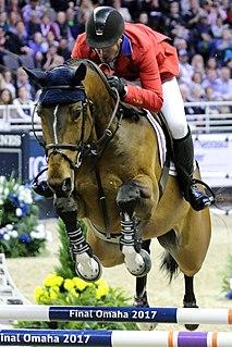 McLain Ward American equestrian