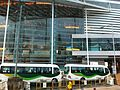 HKCEC shuttle bus view evening Expo Drive Sept-2013 mimibus stop.JPG