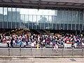 HK 中環 Central 德輔道中 Des Voeux Road HSBC HQ ground floor visitors Sunday May 2019 SSG 01.jpg