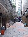 HK Central 中環中心 The Center H6 CONET 市區重建局 URA back lane to Queen's Road September 2019 SSG 03.jpg
