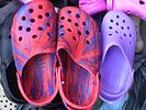 HK Fashion Plastic Clogs n Shoes n Colourful Crocs Footwear.JPG