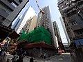HK SW 上環 Sheung Wan 急庇利街 Cleverly Street Wing Lok Street construction site May 2021 SS2 01.jpg