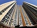 HK TKL 調景嶺 Tiu Keng Leng 彩明街 Choi Ming Street 彩明苑 Choi Ming Court facade blue sky November 2019 SS2 02.jpg