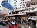 HK Tram 92 view 灣仔 Wan Chai 莊士敦道 Johnston Road October 2019 SS2 226 shops.jpg