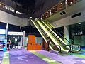 HK Wan Chai North HKAPA 香港演藝學院 The Hong Kong Academy For Performing Arts Nov-2013 interior escalators.JPG