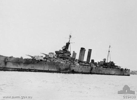 HMAS Australia 1945 019438
