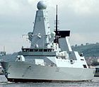 HMS Daring: the first Type 45 destroyer