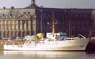 HMS <i>Beagle</i> (A319) motor yacht; former survey vessel
