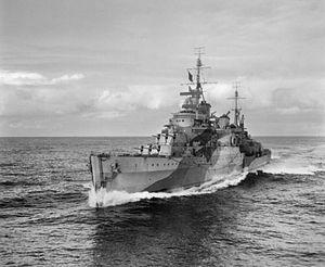 Town-class cruiser (1936) - HMS Liverpool