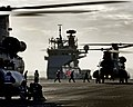 HMS QUEEN ELIZABETH LEAVES PORTSMOUTH FOR HELICOPTER TRIALS MOD 45164124.jpg