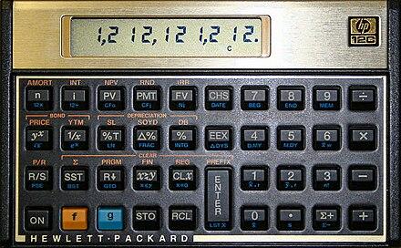 hp 12c wikiwand rh wikiwand com manual calculadora financeira hp 12c platinum Casio Calculadora Financiera