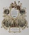 HUA-32698-Herdenkingsprent ter gelegenheid van de 50 jarige herdenking van het herstel van de Nederlandse onafhankelijkheid na het vertrek van de Fransen op 28 .jpg