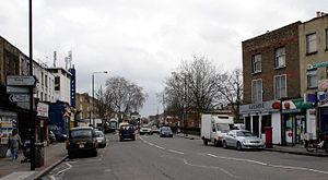 Hackney Road - A view of Hackney Road