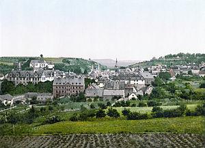 Hadamar - View of Hadamar about 1900