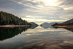 Haida Gwaii (Queen Charlotte Islands) - around Louise Island by Zodiak - early morning reflections from Moresby Camp - (21536175986).jpg