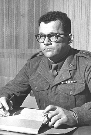 Haim Laskov - Chaim Laskov in 1958
