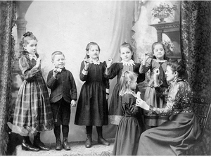 Halifax School for the Deaf - Students of Halifax School For Deaf
