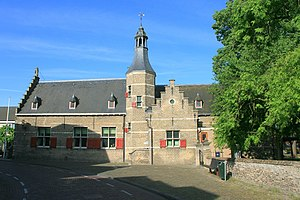 Halsteren - Former town hall of Halsteren