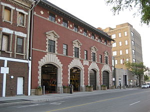 John Street (Hamilton, Ontario) - Hamilton Central Fire Station
