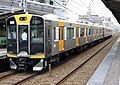 Hanshin 1000 series 1601 on test operation.jpg