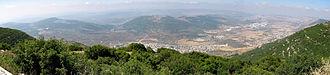 Upper Galilee - Image: Har Ari panorama