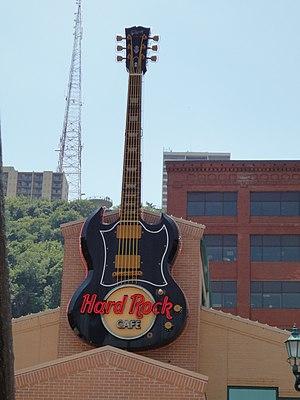 English: Hard Rock Cafe in Pittsburgh, PA.