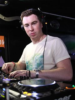 Hardwell Dutch progressive and electro house DJ and music producer