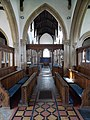 Harlaxton Ss Mary and Peter - interior Chancel view to Nave.jpg
